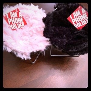Two Mobile phone super soft Holders